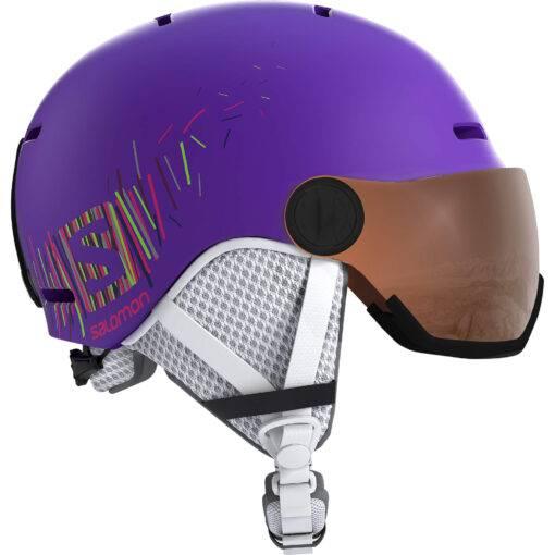 Grom Visor Purple Mat